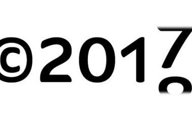 サイトのcopyright年度の自動更新
